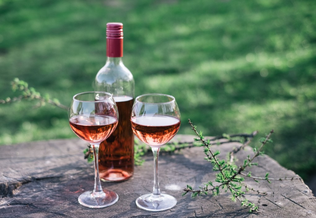Rose Wine - Famous Santorini wine.