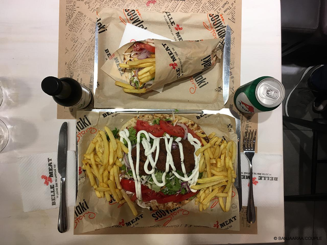 Open Sandwich and French Fries