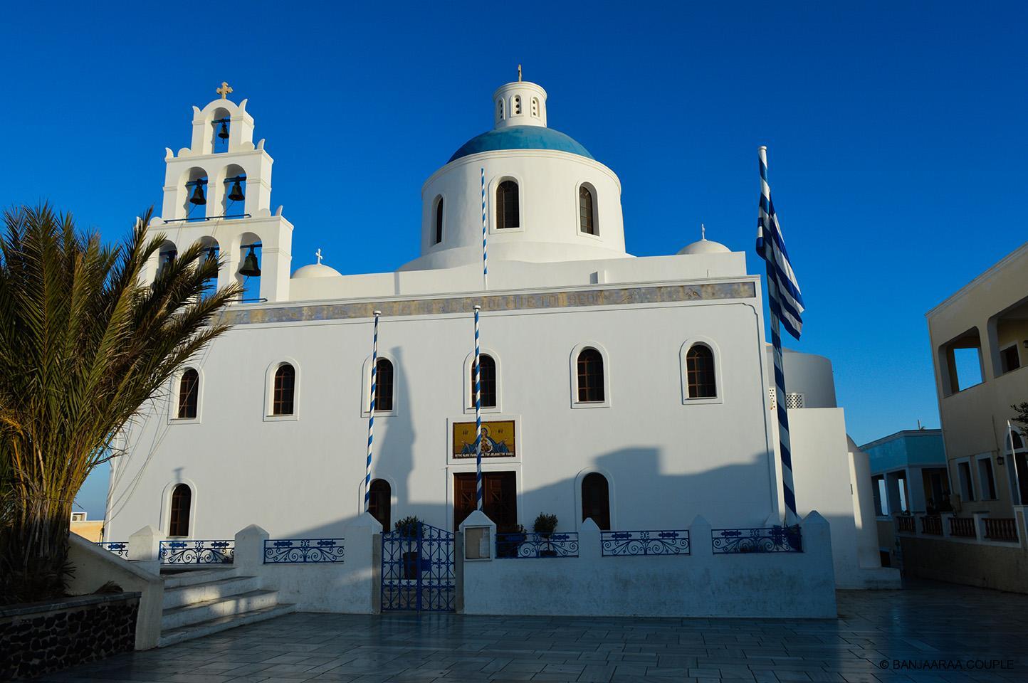 A Church in Oia, Santorini