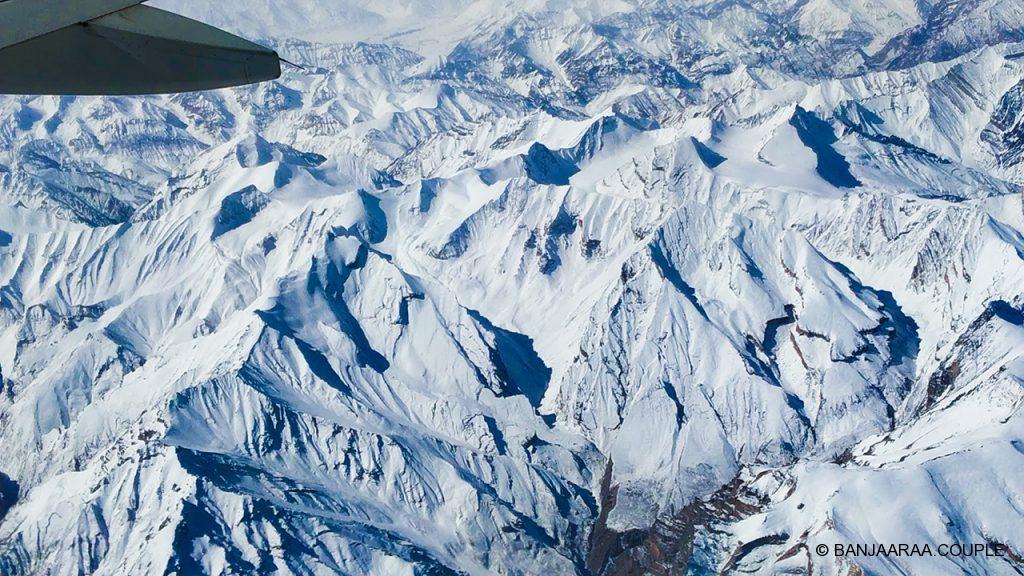 Snow Clad Trans-Himalayan Ranges