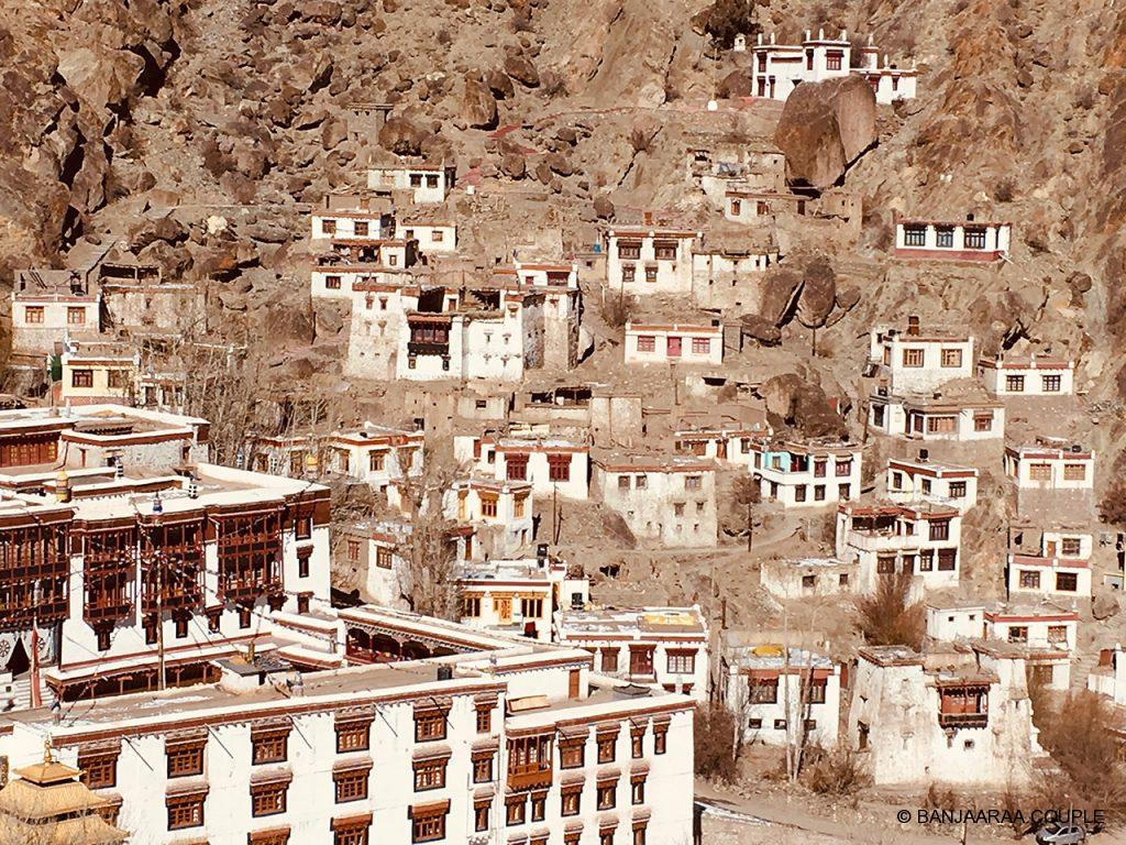 Aerial view of Hemis Monastery