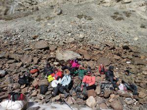 Lunch break on the rocks