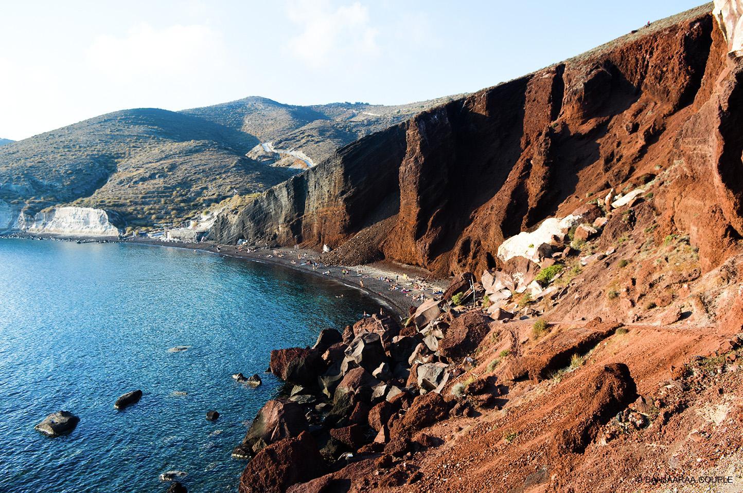 Red Beach near Akrotiri, Santorini