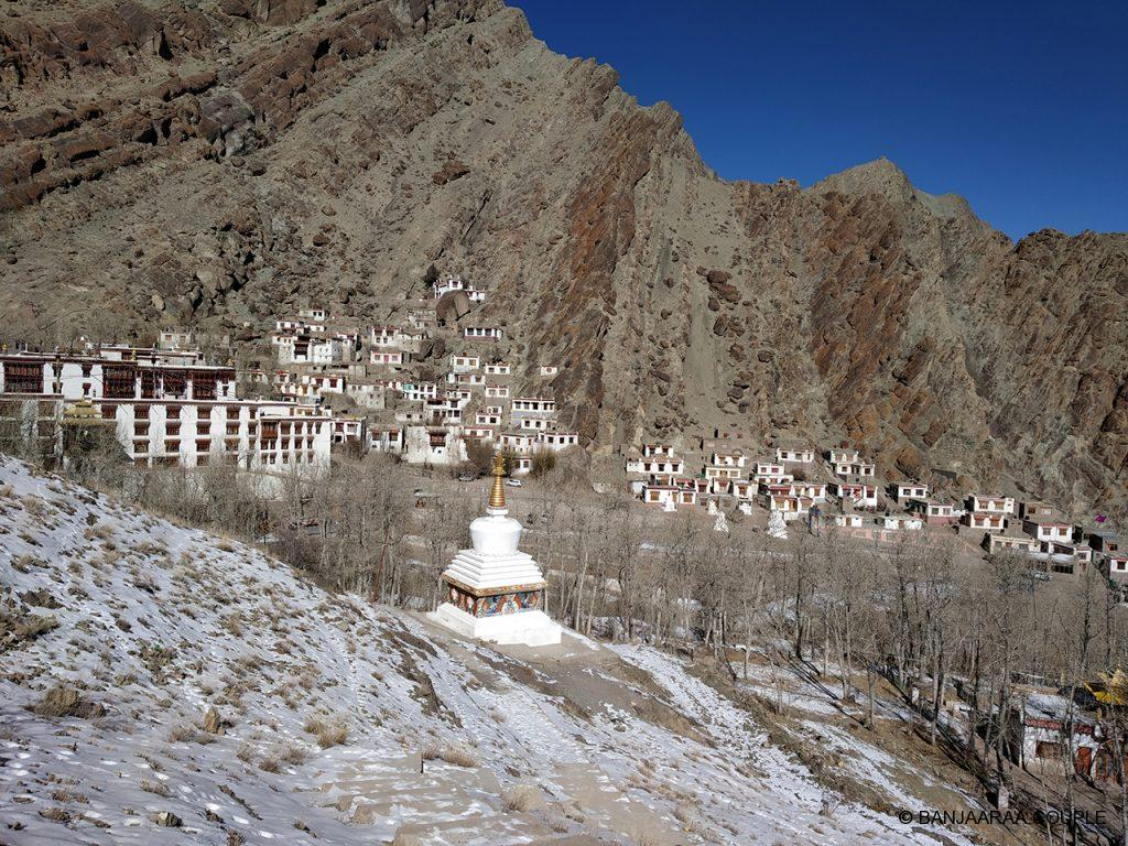 View from the top at Hemis Monastery