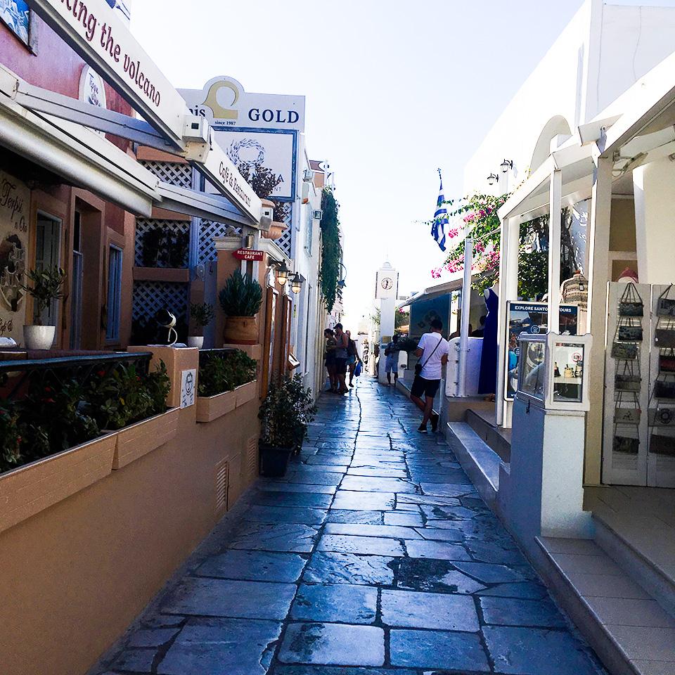 Markets in Oia