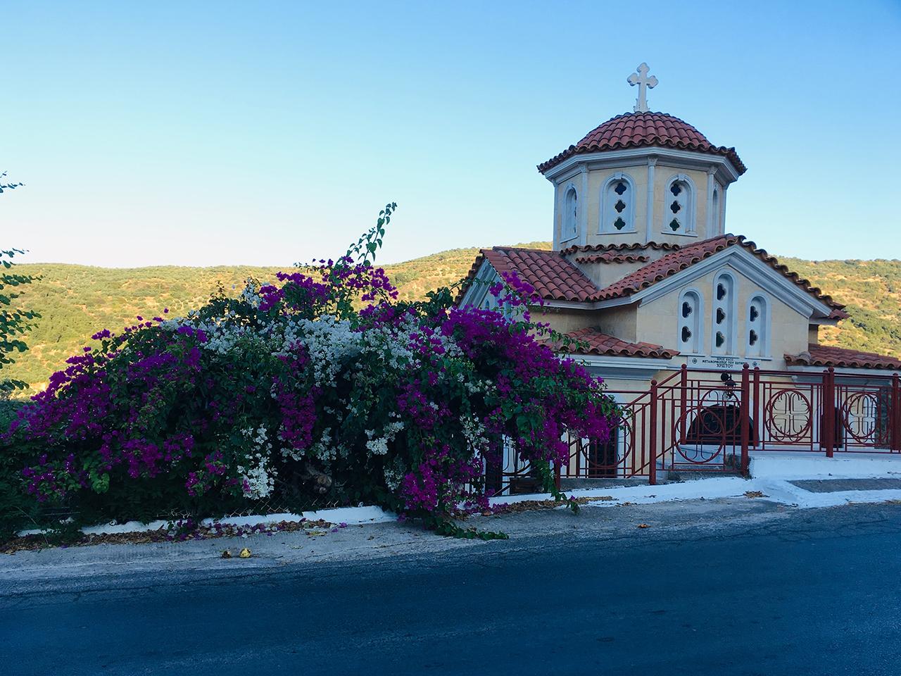 Beautiful church on way back from Elafonisi