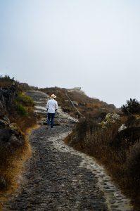 Morning walk from Oia to Fera, Santorini