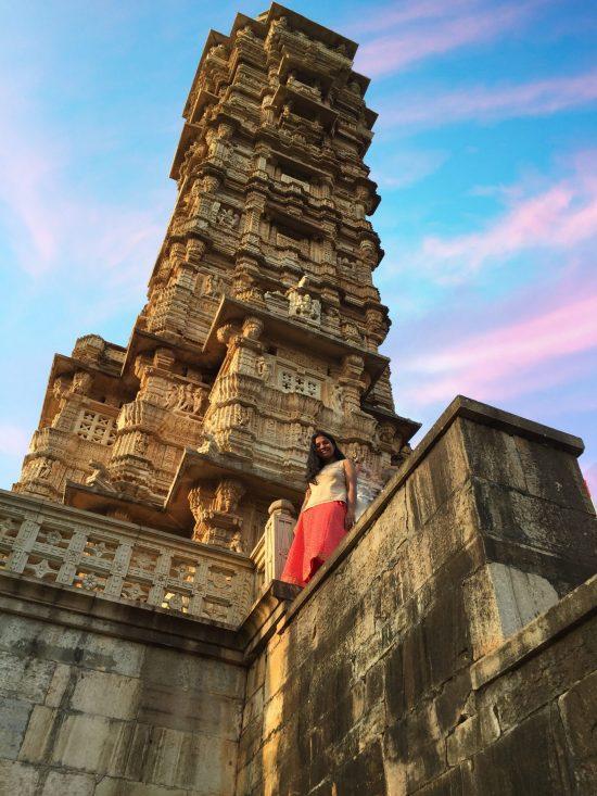 Vijay Stambh at Chittor Fort