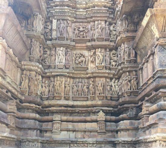 Khajuraho carvings