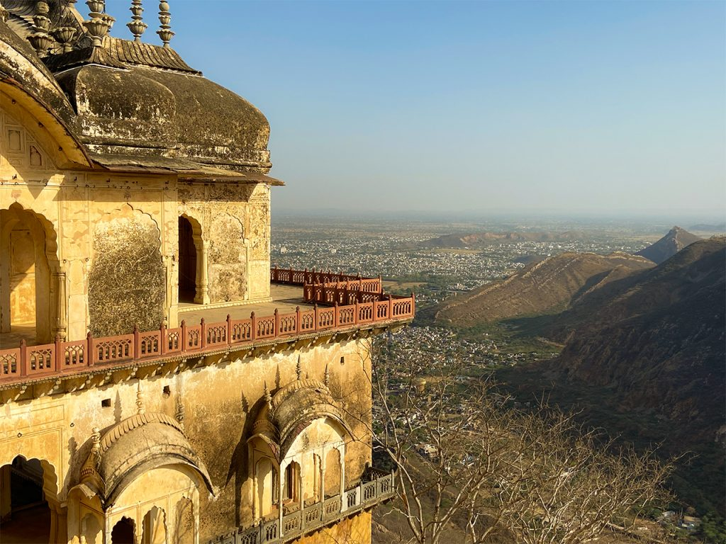 Alwar City View from the top of Bala Quila