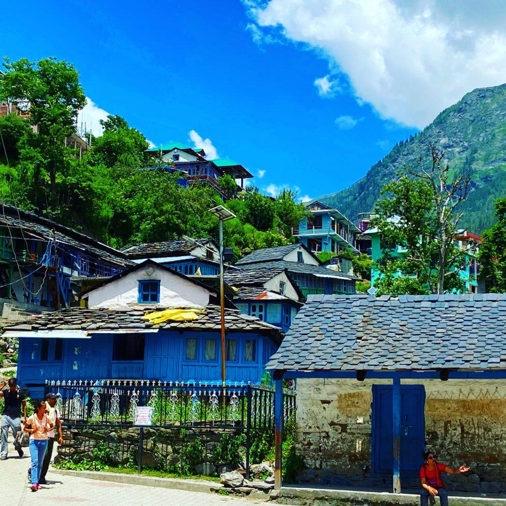 Beautiful village of Tosh
